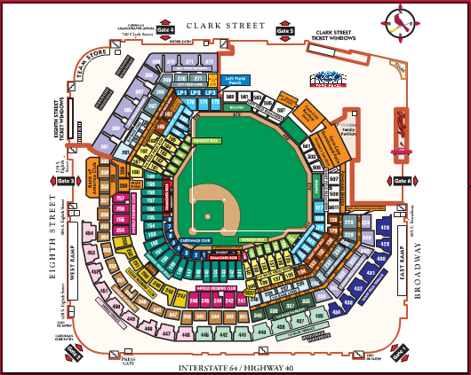 Busch Stadium Review From Forbes To Federal